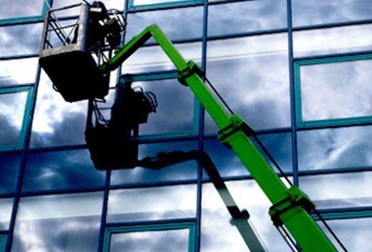 nettoyage, vitre, angers, grande hauteur
